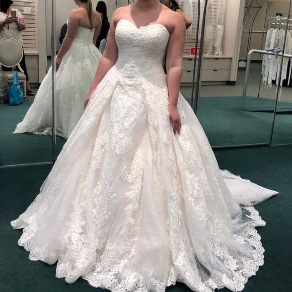 Oleg Cassini Dresses Wedding Gown New Poshmark